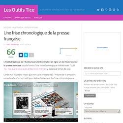 Une frise chronologique de la presse française