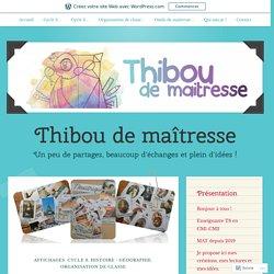 ~ La frise chronologique ~ – Thibou de maîtresse