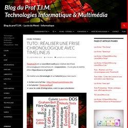 Tuto : Réaliser une frise chronologique avec TimelineJS