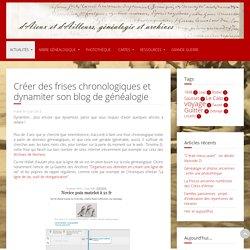 Créer des frises chronologiques et dynamiter son blog de généalogie
