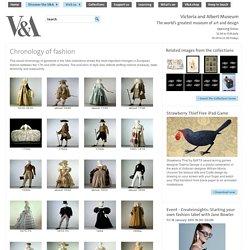 Chronology of fashion