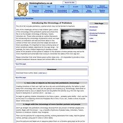 Chronology Of Prehistory