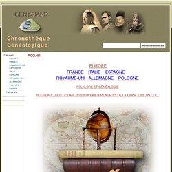 Chronothèque Généalogique