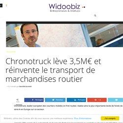 Chronotruck lève 3,5M€ et réinvente le transport de marchandises routier
