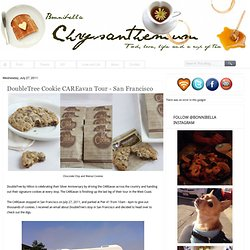 Chrysanthemum: DoubleTree Cookie CAREavan Tour - San Francisco