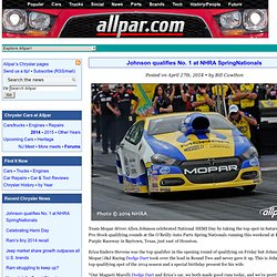 Chrysler, Dodge, Jeep, and Mopar news from allpar.com