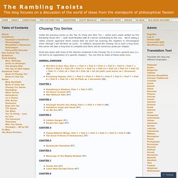 Chuang Tzu Series « The Rambling Taoists
