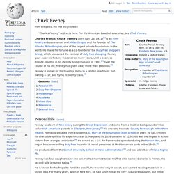 Chuck Feeney - Wikipedia