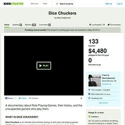 Dice Chuckers by Wes Kobernick