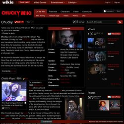 Chucky - Child's Play Wiki