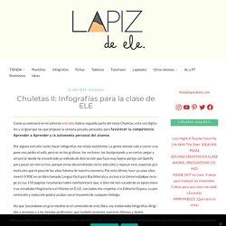 Chuletas II: Infografías para la clase de ELE
