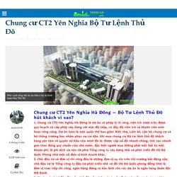 Chung cư CT2 Yên Nghĩa Bộ Tư Lệnh Thủ Đô