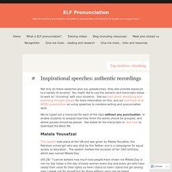 ELF Pronunciation