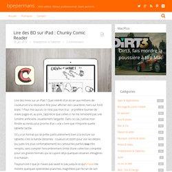 Lire des BD sur iPad : Chunky Comic Reader