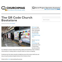 The QR Code Church Bookstore