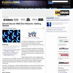 MIDI Over Network