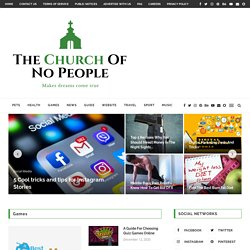 The Church of No People | What sermon would a pastor preach…if no one showed up to church?