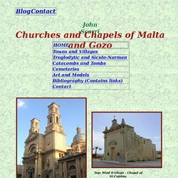 Churches and Chapels of Malta & Gozo