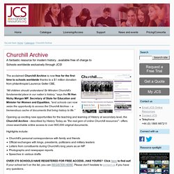 JCS Online Resources