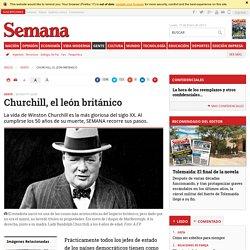 Churchill, el león británico