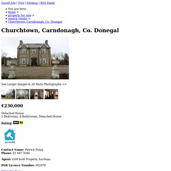 Churchtown, Carndonagh, Co. Donegal