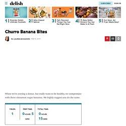 Churro Banana Bites
