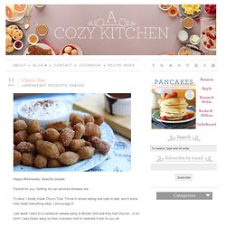 A Cozy Kitchen & Churro Tots - StumbleUpon