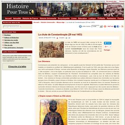 La chute de Constantinople (29 mai 1453)