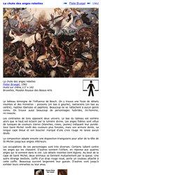 La chute des anges rebelles de Pieter Bruegel