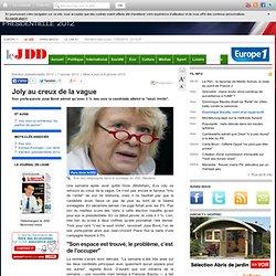 07/01 : chute dans les sondages pour Eva Joly