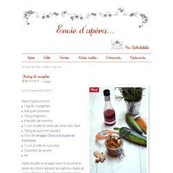Chutney de courgettes - Envie d'apéro