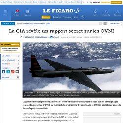 La CIA révèle un rapport secret sur les OVNI