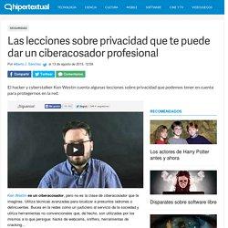 Lecciones sobre privacidad de un ciberacosador profesional