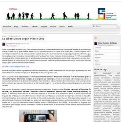 La cibercultura según Pierre Lévy