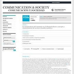 La metamorfosis del reportaje en el ciberperiodismo: concepto y caracterización de un nuevo modelo narrativo