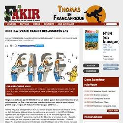 CICE : La (vraie) France des assistés 1/2