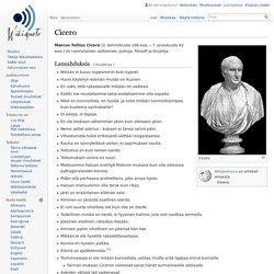 Cicero – Wikisitaatit
