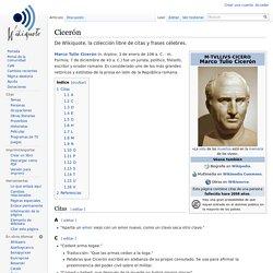 Cicerón - Wikiquote