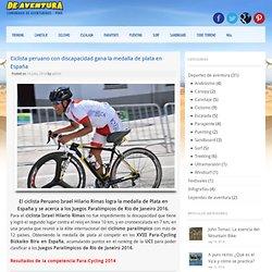 Ciclista peruano con discapacidad gana la medalla de plata en España - De Aventura