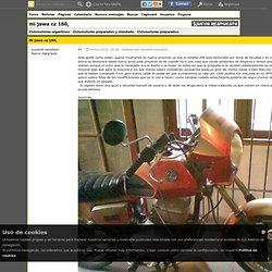 Ciclomotores argentinos - mi jawa cz 180, - Ciclomotores preparados