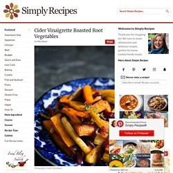 Cider Roasted Root Vegetables
