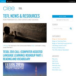 CIEE TEFL Blog
