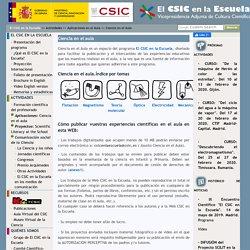 Ciencia en el Aula. El CSIC en la Escuela