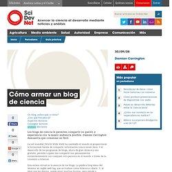 Cómo armar un blog de ciencia