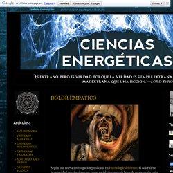 Ciencias Energéticas: DOLOR EMPATICO
