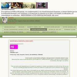 TUS CIENCIAS SOCIALES: HISTORIA ESPAÑA (HIS-ESP)