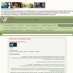 TUS CIENCIAS SOCIALES: HISTORIA UNIVERSAL (HIS)