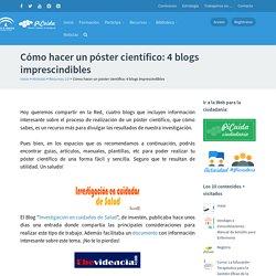 Cómo hacer un póster científico: 4 blogs imprescindibles – PiCuida