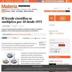 El fraude científico se multiplica por 10 desde 1975