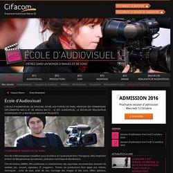 CIFACOM, école d'audiovisuel aux portes de Paris